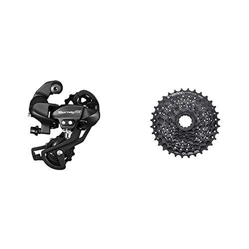 SHIMANO Tourney TX RD-TX800 Schaltwerk 7/8-fach schwarz 2016 Mountainbike & Kassette 8 Fach schwarz, 17 x 17 x 6 cm