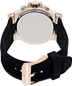 ساعة مايكل كورس MK8184 للرجال كلاسيك بمينا لون اسود كرونوغراف
