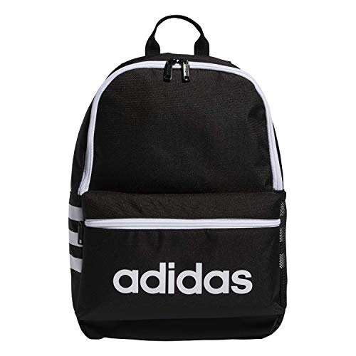 adidas Youth Classic 3S Zaino, Bambino, 978479, Nero/Bianco, taglia unica