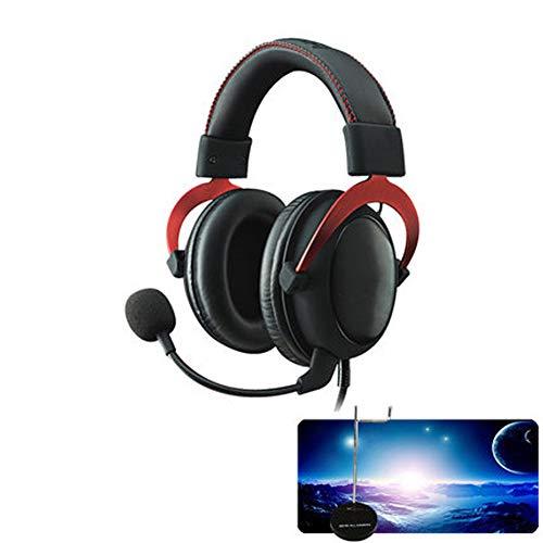 Casque de Jeu 3,55 mm avec Son Surround 7,1, Suppression du Bruit sur l'oreille avec Micro, pour Nintendo Switch, Playstation 4, MacBook, iMac, PS4