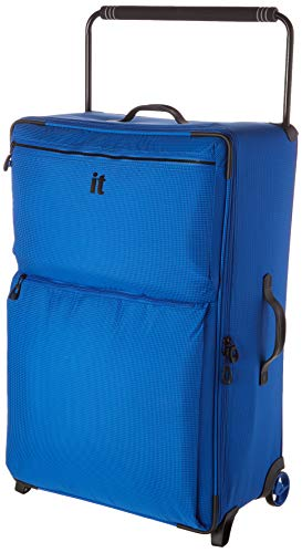 it luggage World's Lightest Los Angeles Upright, Strong Blue, 22-Inch