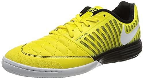 Nike Lunar Gato II IC, Botas de fútbol. Hombre, OPTI Yellow White Black, 42.5 EU