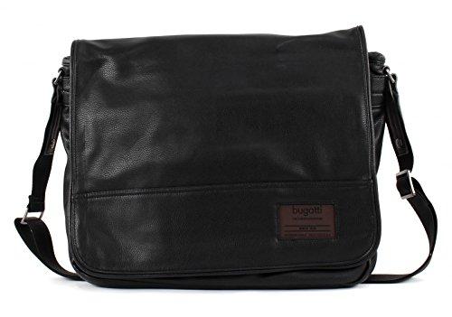 Bugatti Unisex Sporttasche, schwarz, 36 cm