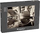 Puzzle 2000 Teile Musik Geige Geige Vintage Altes Makro - Klassische Puzzle, 1000 / 200 / 2000 Teile, edle Motiv-Schachtel, Fotopuzzle-Kollektion 'Musik'