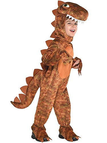 amscan Childs T-Rex Hooded Jumpsuit Costume