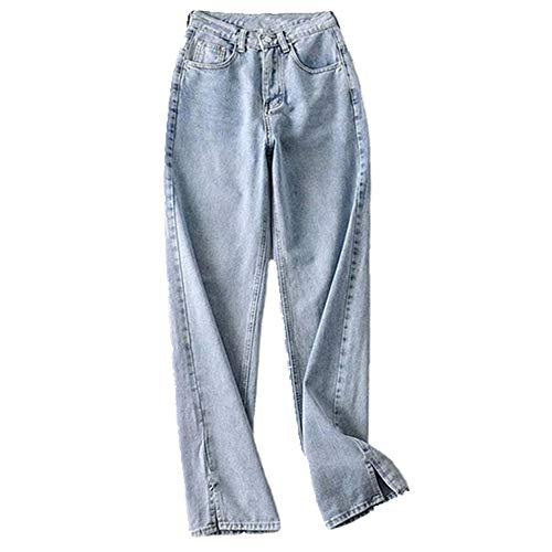 N\P Mujer Pantalones Jeans Mujer Suelto Otoño Invierno