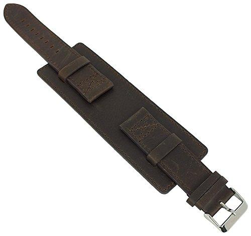 s.Oliver Unterlagenband Uhrenarmband Leder 22mm braun SO-3048-LQ