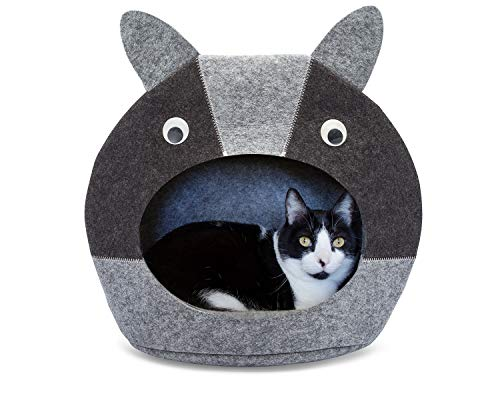 Little Pete Felt Cat Bed cave for Your Pets - Ideal Cats...