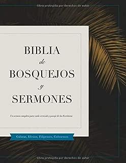 Biblia De Bosquejos Y Sermones: Gálatas – Colosenses (Spanish Edition)