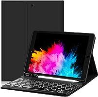 Capa Premium com Teclado para Novo iPad 7a e 8a Geracao