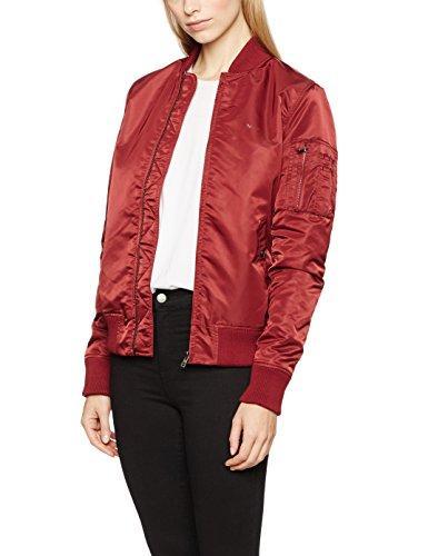 LTB Jeans Damen COPAWA Coat Jacke, Rot (Rosewood 1732.0), 38 (Herstellergröße:M)
