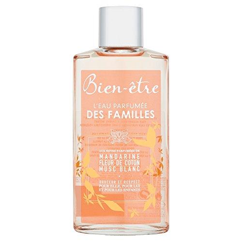 Bien-être - Eau Parfumée Des Familles Aux Notes Parfumées De Mandarine / Fleur De Coton Musc Blanc - 250 ml