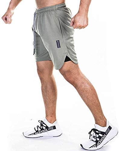 Men's Max 49% OFF 2-in-1 Workout Running Max 74% OFF Shorts Gym Trainin Lightweight Yoga