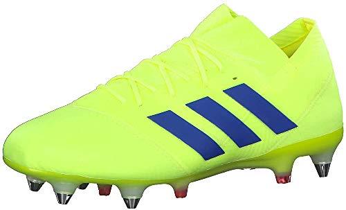 Adidas Nemeziz 18.1 SG, Botas de fútbol Hombre, Multicolor (Amasol/Fooblu/Rojact 000), 43 1/3 EU