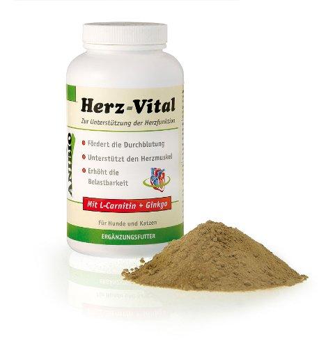 Anibio Herz-Vital 330g Ergänzungsfutter für Hunde und Katzen, 1er Pack (1 x 330 g)