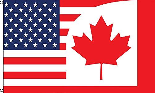 us canada flag - 7