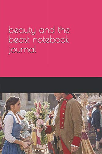beauty and the beast notebook journal