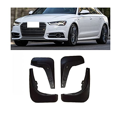 Ztuaalui Guardabarros, para Audi A6 C7 Sedan Saloon Avant 4th 4 Gen 2018~2011 Guardabarros Guardabarros Accesorios 2009 2008 2007