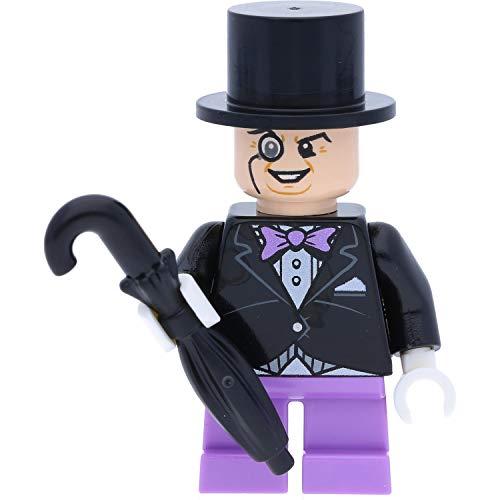 LEGO Enesco Batman - Figura decorativa de El pingüino con paraguas