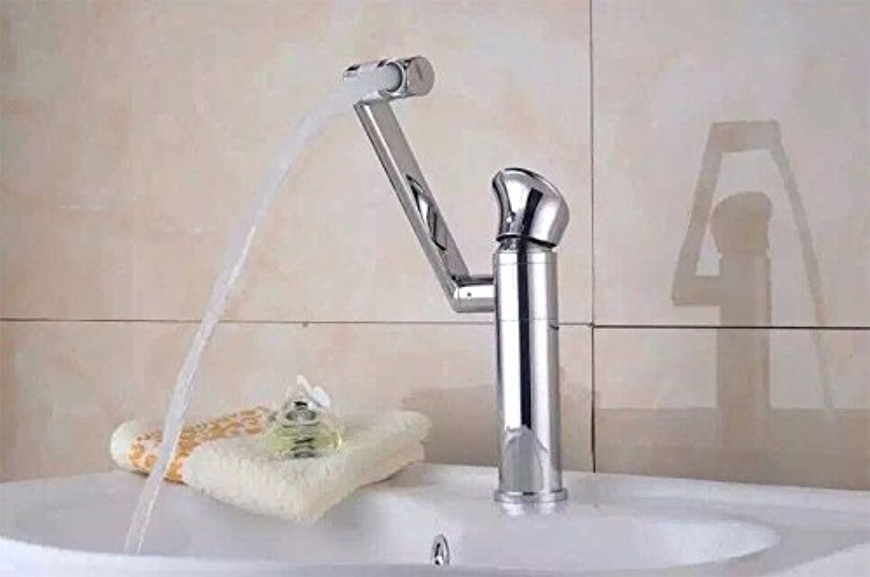 Wasserhahn küche mit herausziehbarer Dual-Spülbrause,Kaltes und Heies Wasser Vorhanden Messing verchromt Robinet cuisine moderne salle de bain cuisine chaude et froide évier mélangeur