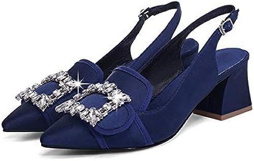 HommesGLTX Talon Talon Talon Aiguille Talons Hauts Sandales Mode Chaussures à Talons Hauts Chaussures De Mariage Femme Soie De Haute Qualité Pointu Toe Printemps été Chaussures Sandales 1d8