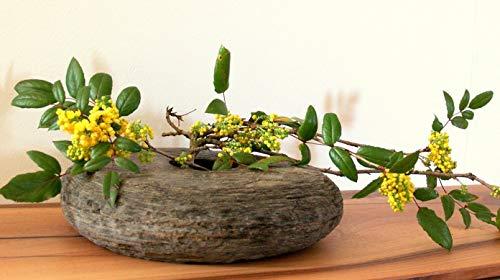 A-zone-art-house r&e Flache Vase aus Stein