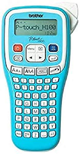 Brother PT-H100LB EtiqueteuseTitreuse - P-Touch Bleue pour Votre Organisation - Jusqu'à 12mm - Ludique et Portable