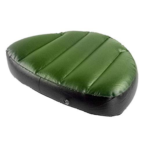 Cojín hinchable para kayak, para 2/3 personas, impermeable, resistente al desgaste, cómodo cojín hinchable, cojín de pesca grueso, accesorio para deportes acuáticos