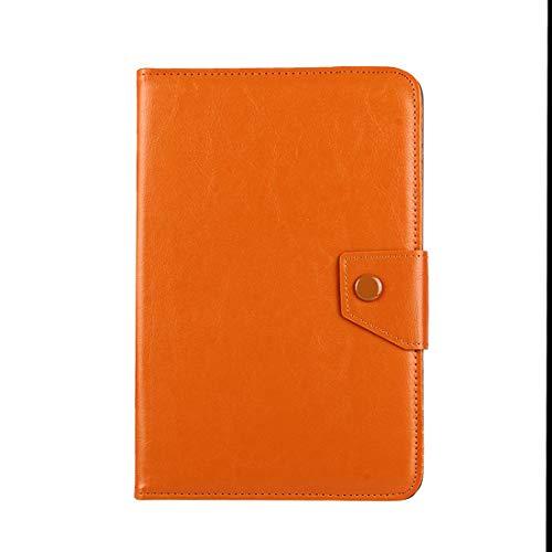 TAIYOUU 10 Pulgadas Caso de Cuero de Caballo Loco tabletas Textura Shell Funda Protectora con Soporte for ASUS for ZenPad 10 Z300C, for Huawei MediaPad for M2 de 10,0 A01W, Cubo IWORK10 (Negro)