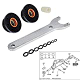 Front Mount Hydraulic Steering Cylinder Seal Kit with Pin Wrench fits for Seastar #HS5157 #HS5167 Mounting Steering Cylinder Compatible with HC5340, HC5341-HC5348 HC5358 HC5365 HC5375 HC5394 HC5445