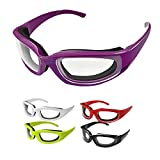 5 Pairs Onion Glasses,Onion Goggles Glasses,Anti-Fog No-Tears,Kitchen Onion Glasses with Inside...