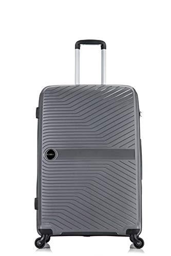 24' Flymax Hard Shell Medium Suitcases 4 Wheel Spinner 67 cm