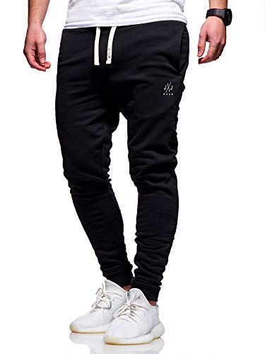 JACK & JONES Herren Jogginghose Sweat Pants Trainingshose Freizeithose Joggers Streetwear (Large, Tap Shoe)