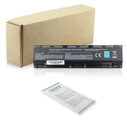 Bay Valley Parts Laptop Battery For Toshiba PA5023U-1BRS PA5024U-1BRS PA5025U-1BRS PABAS260 Toshiba Satellite C840 C840D C845 C850 C850D C855 C855D C870 C870D C875 C875D L840 L840D L845 L850 L850D L85