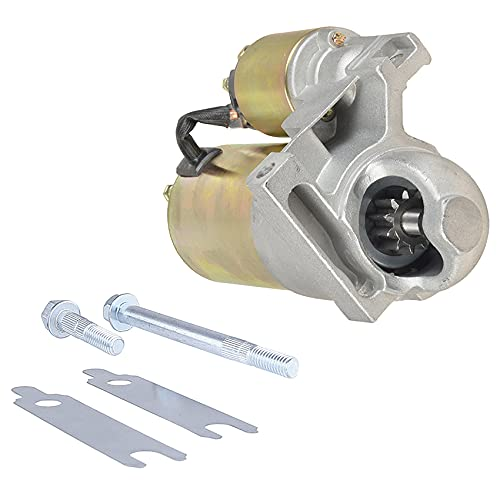 Rareelectrical NEW CHEVY MINI STARTER COMPATIBLE WITH 283 327 350 396 454 COMPATIBLE WITH 153 TOOTH FLYWHEEL 10461445 STRAIGHT MOUNT