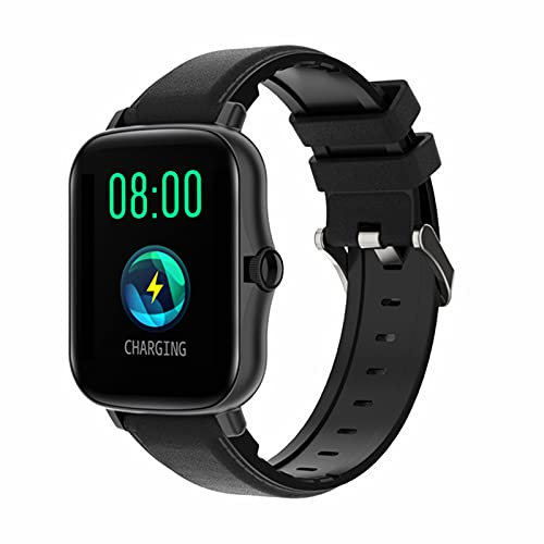 L.B.S Y20 Smart Watch Bottone Rotante da Uomo IP67 Smart Orologio Smart 1.7 Pollici Schermo HD Sport Smart Watch Smart Orologio 24 Ore Cedotto VS P8 Plus,C