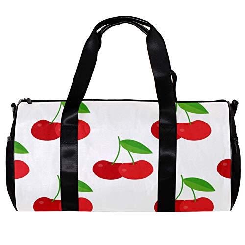 Runde Sporttasche mit abnehmbarem...
