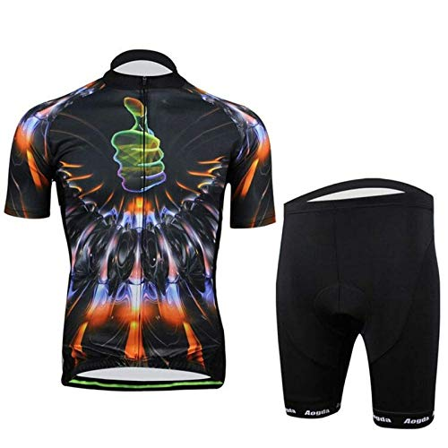 Belleashy Chaqueta De Ciclismo para Hombre Ropa De Ciclismo 3D Ropa Deportiva Bicicleta Traje De Ciclismo para Correr Ciclismo Deportes Al Aire Libre