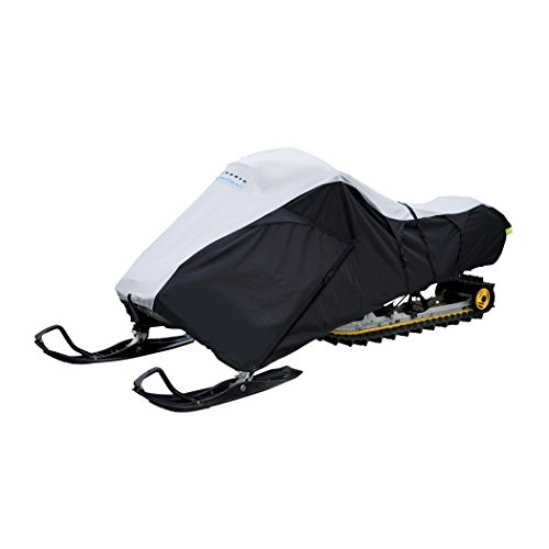 """Classic Accessories Deluxe Snowmobile Travel Cover, Fits snowmobiles 101"""" - 118""""L"""
