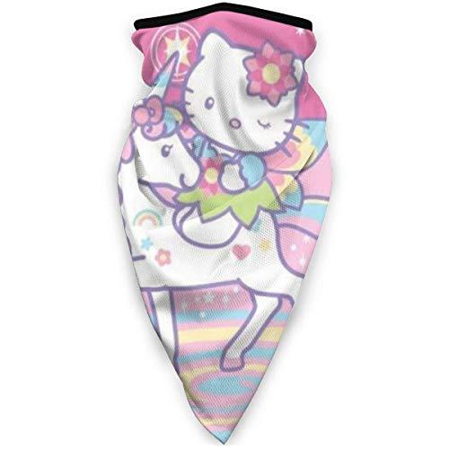 LKZYF Hello Kitty Ma-sk - Pañuelo para la cara para la cabeza al aire libre, turbante cuello resistente al viento, protección solar, sin costuras, pañuelo