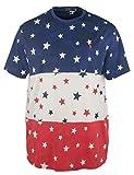 Polo Ralph Lauren Mens Stars & Stripes Graphic Dip Dye T-Shirt Navy XL