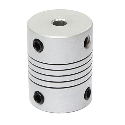 yotijar Eje de Acoplamiento Del Motor para Pieza de Impresora CNC 3D - Plata