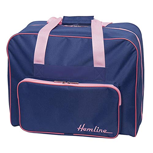 Hemline Premium Naaimachine Tas - Blauw/Roze