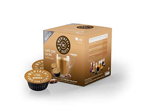 Oquendo - Capsulas de Café Con Leche (Compatibles con Dolce Gusto) 16C 160G