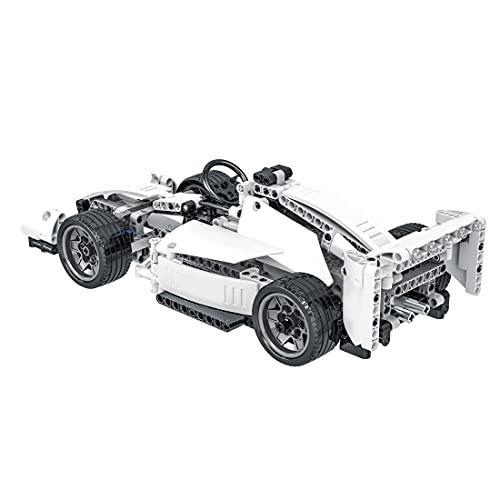YOU339 Modelo de vehículo teledirigido F1 FW41, escala 1:14, ladrillo supercarrera, juguete de partículas pequeñas, MOC, kit de coche compatible con Lego Technic