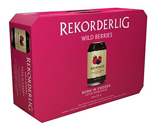 Rekorderlig Wildbeere Cider 4.5% (24 x 0.33 l)