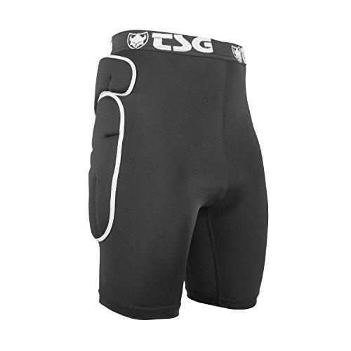TSG Crash Pant Combat Schutzunterhose, Black, M