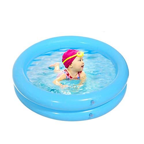 bgfh 65 * 65cm Piscina Inflable para niños, Juguetes de Agua de Verano para niños, bañera Redonda, Adorable Animal Impreso, Juego Inferior, Piscina, Pelota para bebés