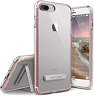 VRS DESIGN iPhone 7 Plus / 8 Plus Case [Crystal Mixx Series] Slim Fit Lightweight Low Profile Cover with Metal Kickstand R...