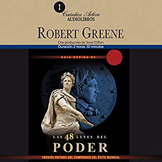 Guía rápida de las 48 leyes del poder [The Concise 48 Laws of Power] audiobook cover art